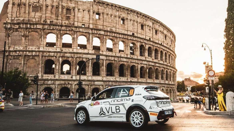 Roma foi Rally difícil