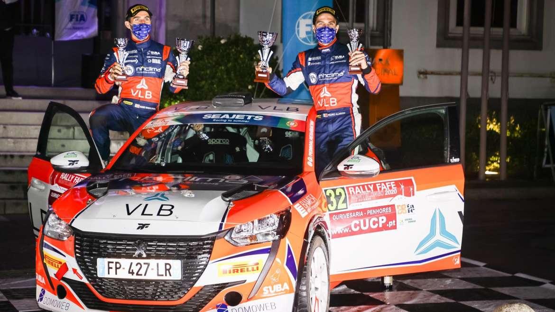 Pódio no Europeu – Rally Montelongo